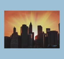 Sunset in New York City Kids Clothes