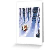 Noah and Tigers Greeting Card