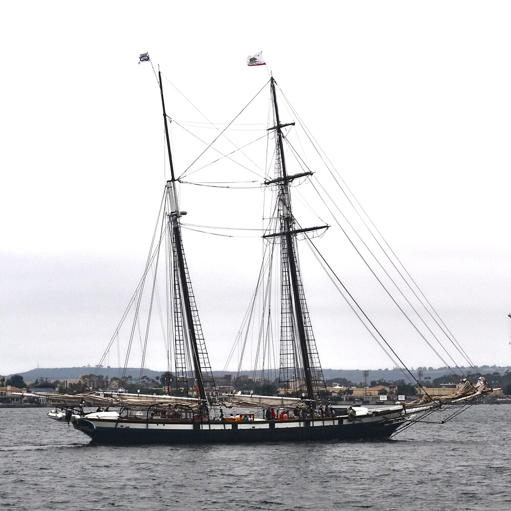 San Diego Going Out by Thomas Barker-Detwiler