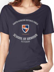 SADF School of Armour Veteran Shirt Women's Relaxed Fit T-Shirt