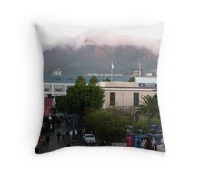 Downtown Capetown, South Africa Throw Pillow