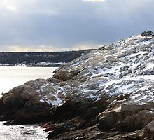 Winter Cliffs by HALIFAXPHOTO