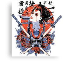 Geisha Death Canvas Print