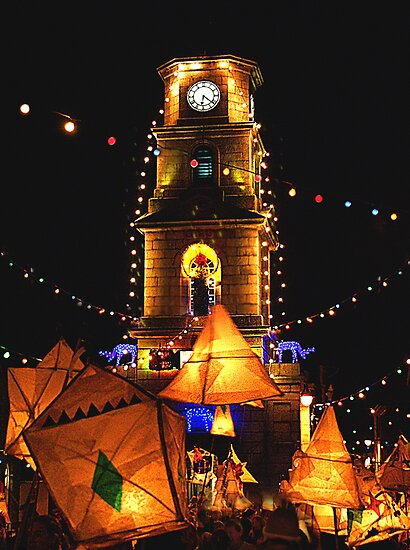 Penryn Christmas Lights & Lanterns by AndyReeve