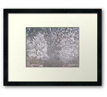 Freezing Fog Framed Print