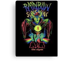 Rainbow Sunshine Cult Canvas Print