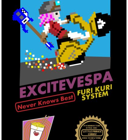 ExciteVespa Sticker