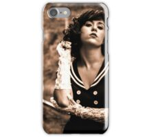 Lipstick Stains On Her Cigarette iPhone Case/Skin