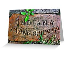 A Hoosier in Illinois Greeting Card