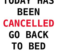 Today has been cancelled by jvandoninck
