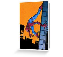 Does whatever a spider can... Greeting Card