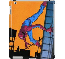 Does whatever a spider can... iPad Case/Skin