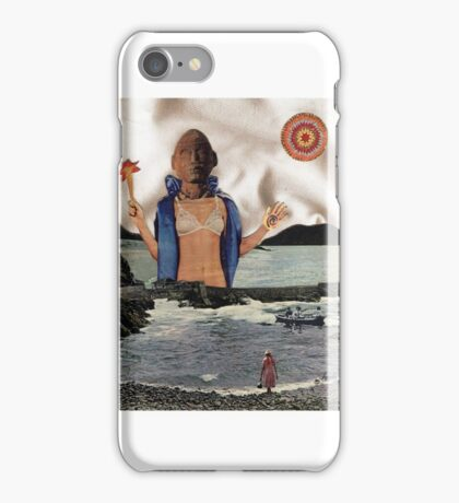 APHRODITE - surreal, fantasy original collage iPhone Case/Skin