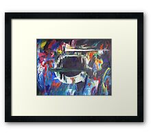 In the fishbowl Framed Print