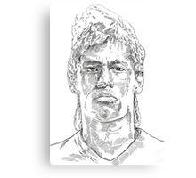 Neymar Canvas Print
