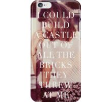 Taylor Swift New Romantics Polaroid Quote  iPhone Case/Skin