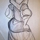 CLOTHED FIGURE DRAWING 4 by Tammera