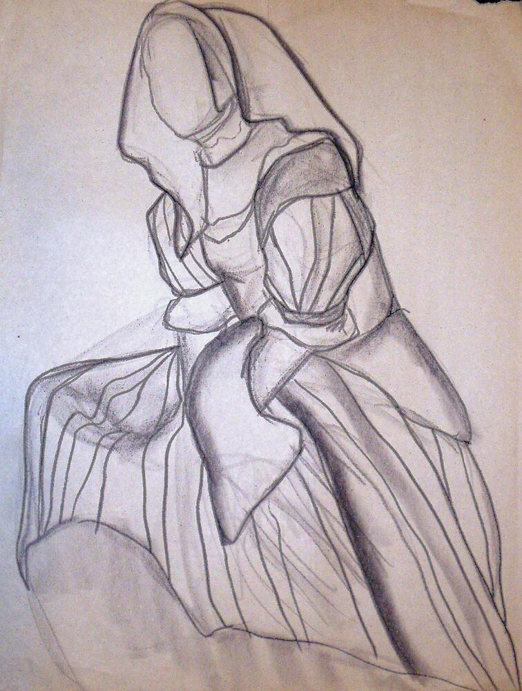 CLOTHED FIGURE DRAWING 5 by Tammera