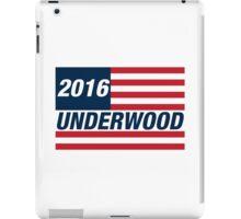 Frank Underwood For US President 2016 iPad Case/Skin