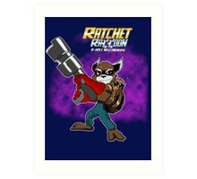 Ratchet Racoon Art Print