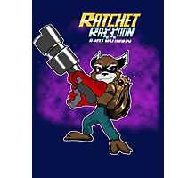 Ratchet Racoon Photographic Print