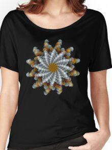'Flower Spiral' t-shirt Women's Relaxed Fit T-Shirt