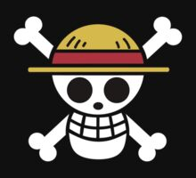 One Piece Skull Logo by limon93