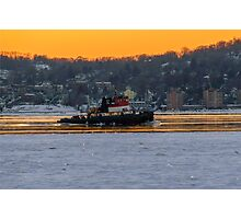 Sunset Cruise Photographic Print