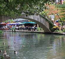 San Antonio Riverwalk by LindaJBazor