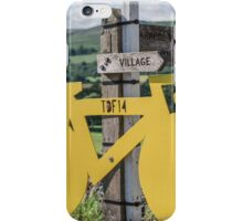 Tour De France Yorkshire iPhone Case/Skin