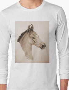 """Precious Little One"" - Sepia Long Sleeve T-Shirt"