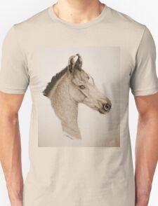 """""""Precious Little One"""" - Sepia Unisex T-Shirt"""