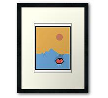 Fantastic Planet - Eyes Framed Print