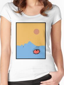 Fantastic Planet - Eyes Women's Fitted Scoop T-Shirt
