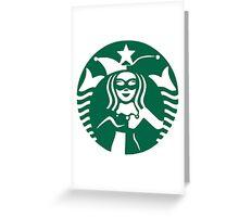 Quinn Coffee (Classic) Greeting Card