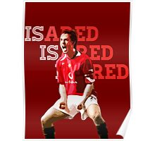 Gary Neville Is A Red Poster