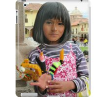 Una flor de Cusco iPad Case/Skin