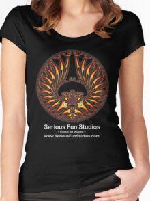 'GoldWings' Serious Fun Studios Promo T-shirt Women's Fitted Scoop T-Shirt