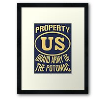 Property Grand Army of The Potomac Gold Framed Print