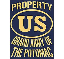 Property Grand Army of The Potomac Gold Photographic Print