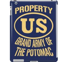 Property Grand Army of The Potomac Gold iPad Case/Skin