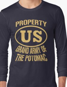 Property Grand Army of The Potomac Gold Long Sleeve T-Shirt