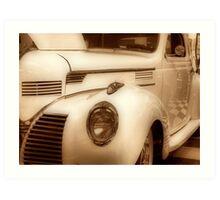Antique Dodge Art Print