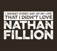 Regret Every Day - Nathan Fillion (Variant) T-Shirt