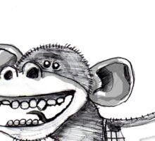 Monkey Symbols 2 Sticker