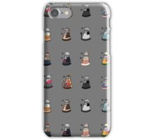 Daleks in Disguise Pattern iPhone Case/Skin