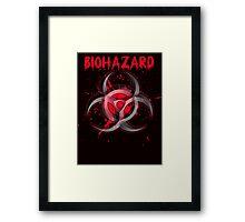 biohazard reactor Framed Print