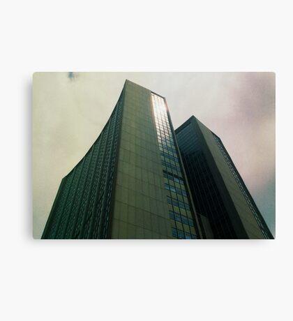 Big City Skyline........the pastel set  #one Canvas Print