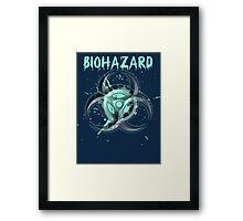organic biohazard Framed Print