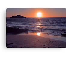 Safety Bay Sunset Canvas Print